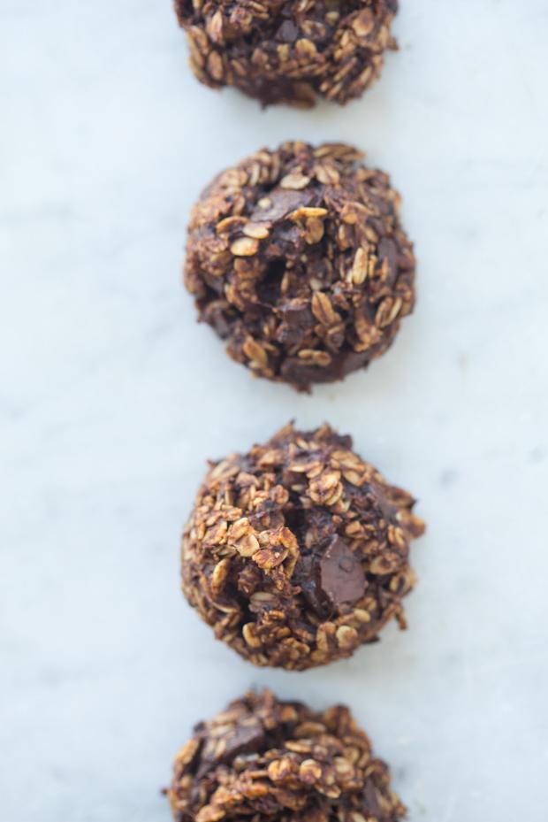 Healthful Double Chocolate Cookies