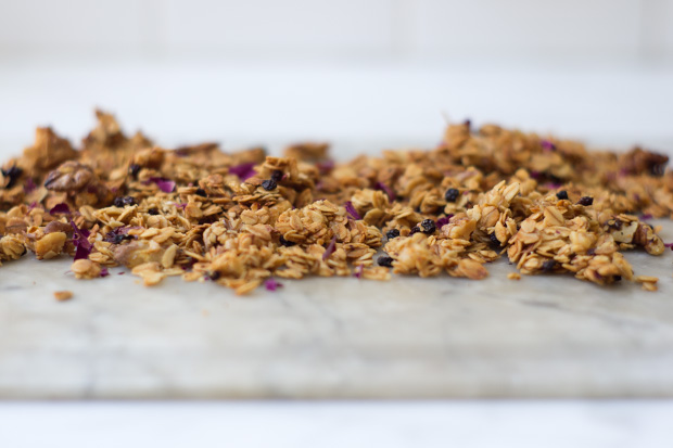 Rose Petal Granola Recipe - 101 Cookbooks