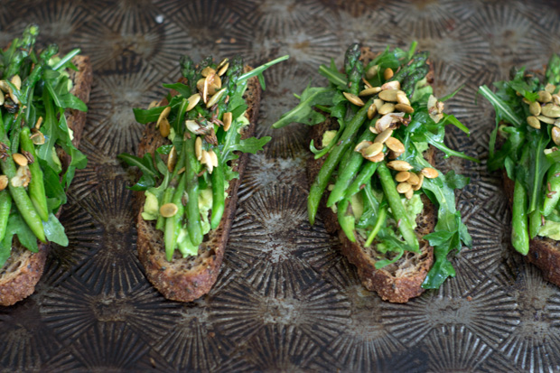 Avocado Asparagus Tartine Recipe - 101 Cookbooks