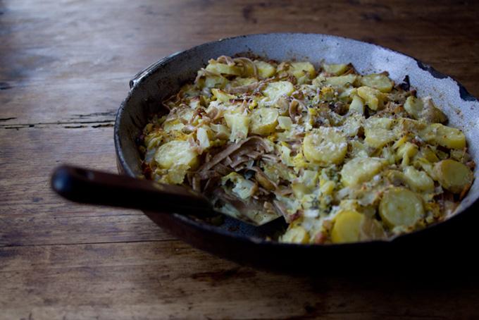 Lamb And Mint Meatballs With Farro Risotto And Cilantro Pesto Recipe ...