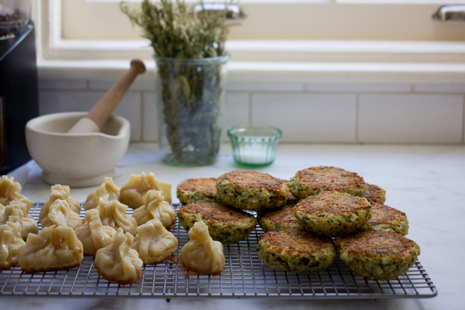 Baked Quinoa Patties recipe