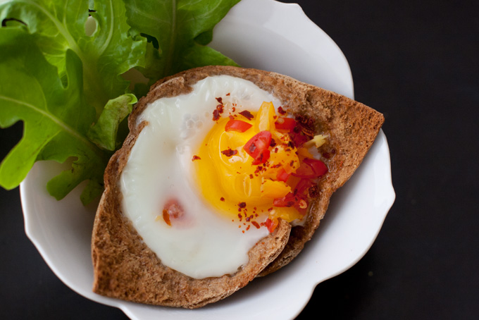Baked Egg Recipe
