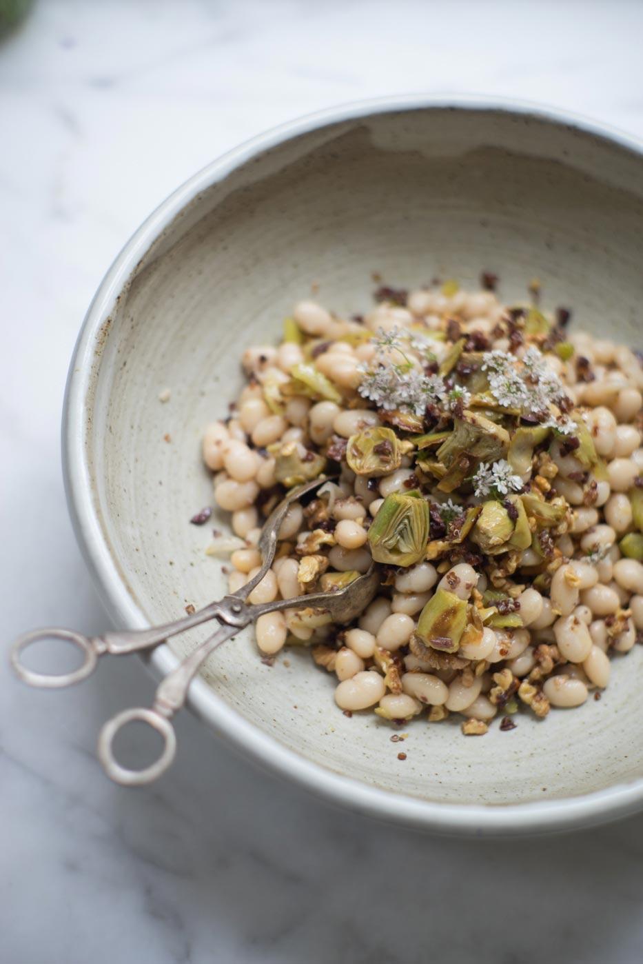 Cocagne Bean & Artichoke Salad