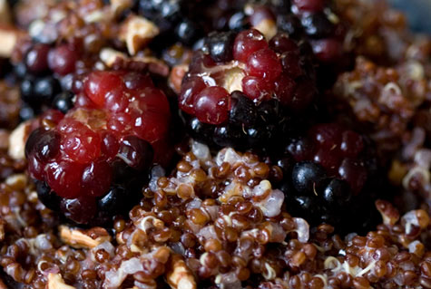 Berry Quinoa Recipe