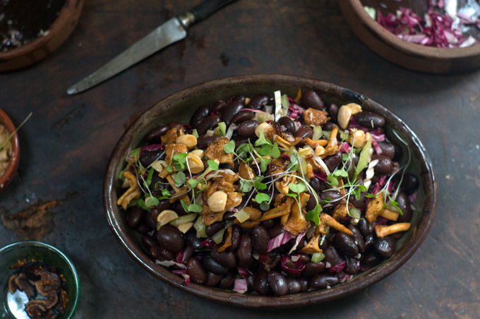 Ayocote Bean Amp Mushroom Salad Recipe 101 Cookbooks