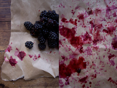 Chile Blackberry Syrup Recipe