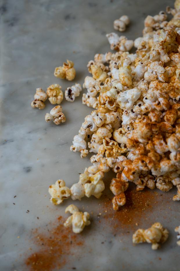 Bloody Mary Popcorn