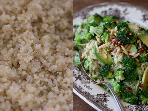 Double Broccoli Quinoa Recipe - 101 Cookbooks