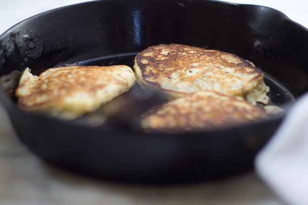 Rice And Sesame Pancakes Recipe — Dishmaps