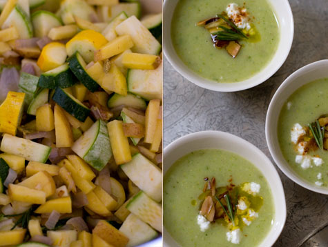 Buttermilk Summer Squash Soup Recipe