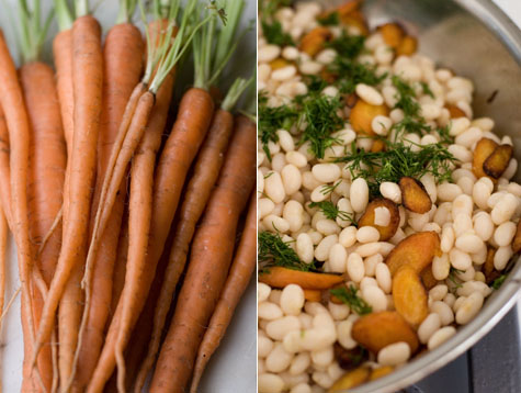 Carrot White Bean Salad Recipe
