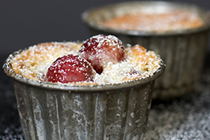 Cherry-Almond Gratin Recipe - 101 Cookbooks