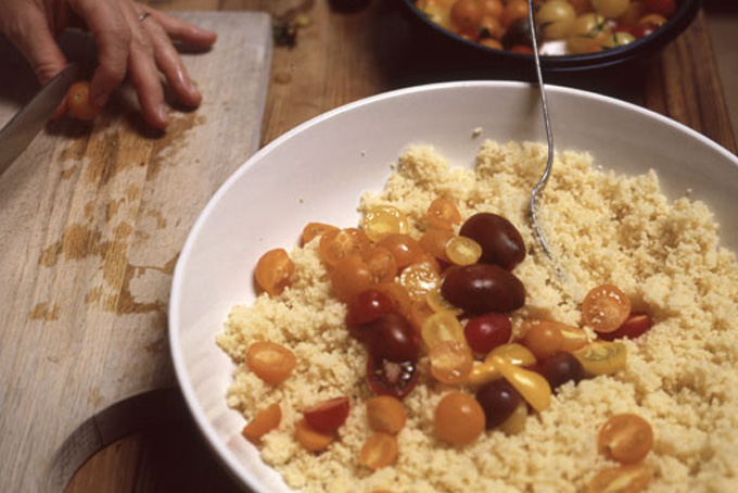 Cherry Tomato Couscous recipe