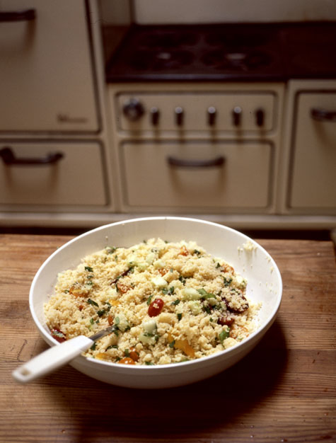Cherry Tomato Couscous