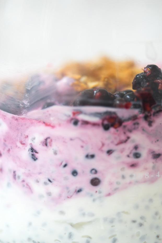 Chia Yogurt Parfait