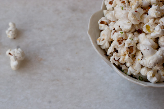 Chile Lime Tequila Popcorn Recipe - 101 Cookbooks