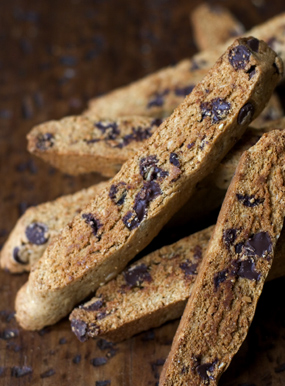 Image of Almond Chocolate Chip Biscotti, 101 Cookbooks