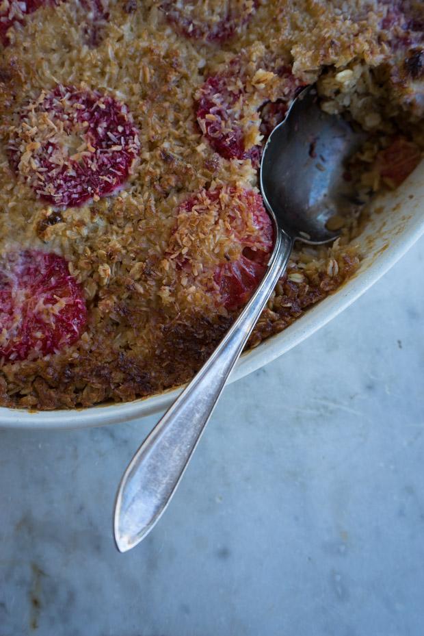Coconut Baked Oatmeal Recipe