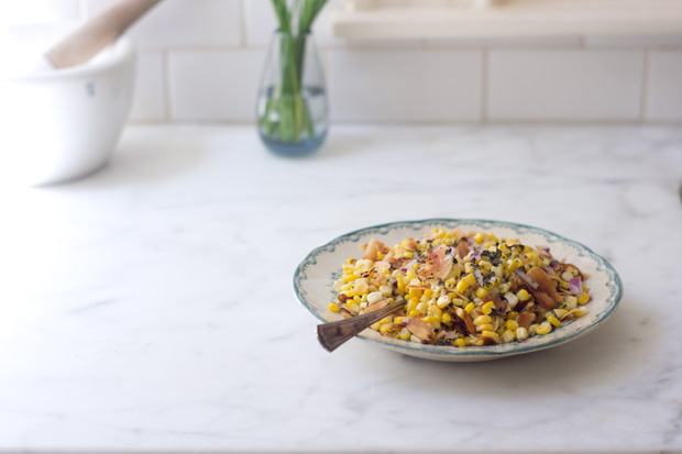 Coconut Corn Salad Recipe