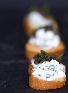 Beluga Lentil Crostini Recipe - 101 Cookbooks