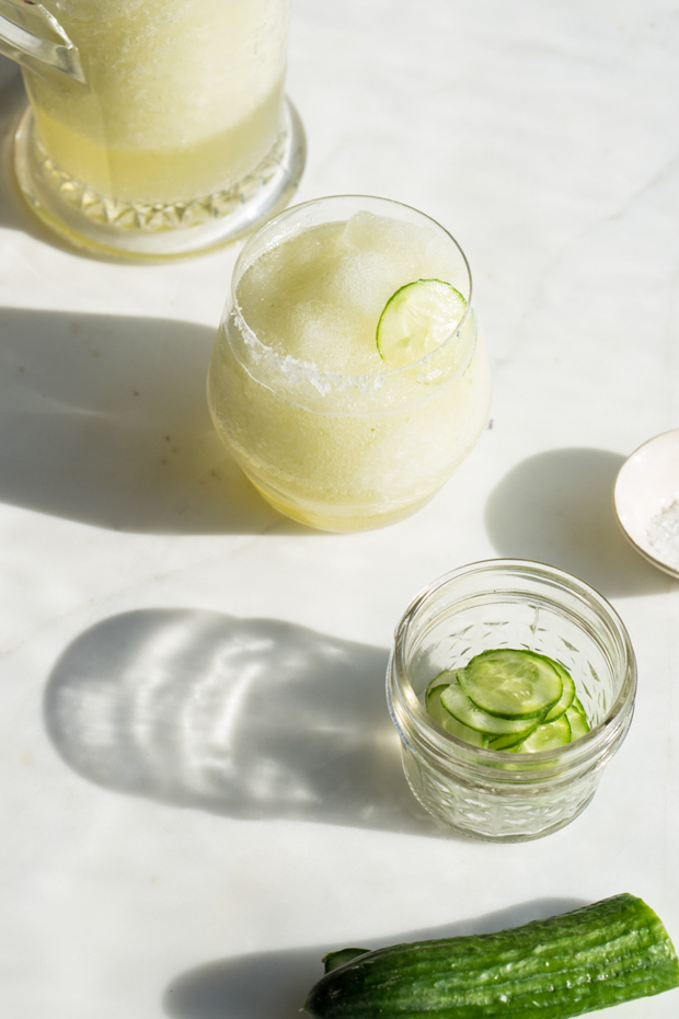 Cucumber Gin Slush Recipe
