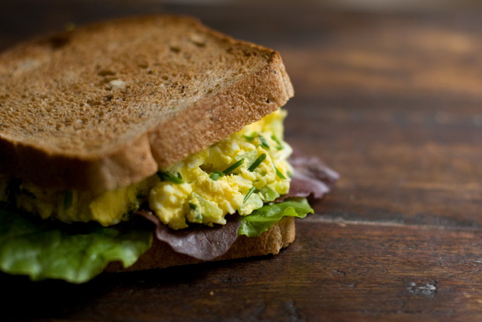 Egg Salad Sandwich (the only one I'll eat) Recipe - 101 Cookbooks