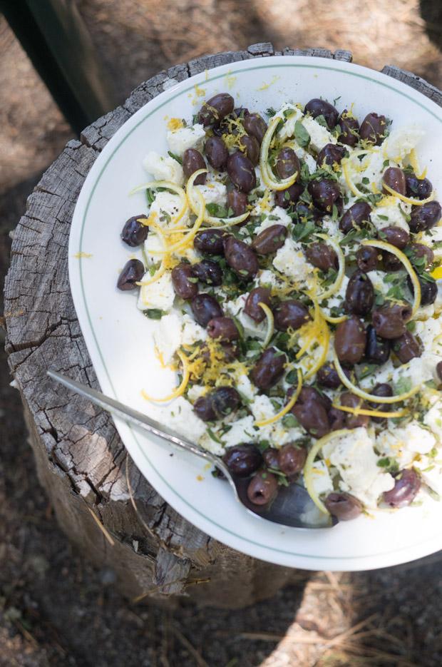 Feta Oregano Salad