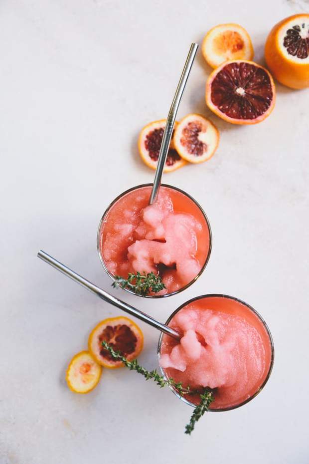 Eleven Slushie Cocktails to Make This Summer