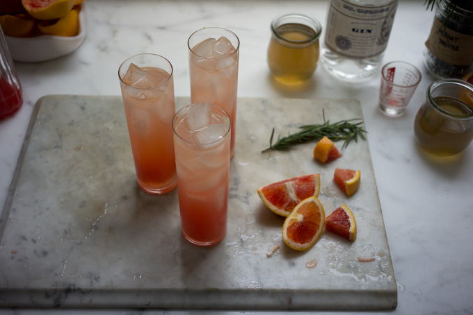 Blood Orange Gin Sparkler Recipe - 101 Cookbooks