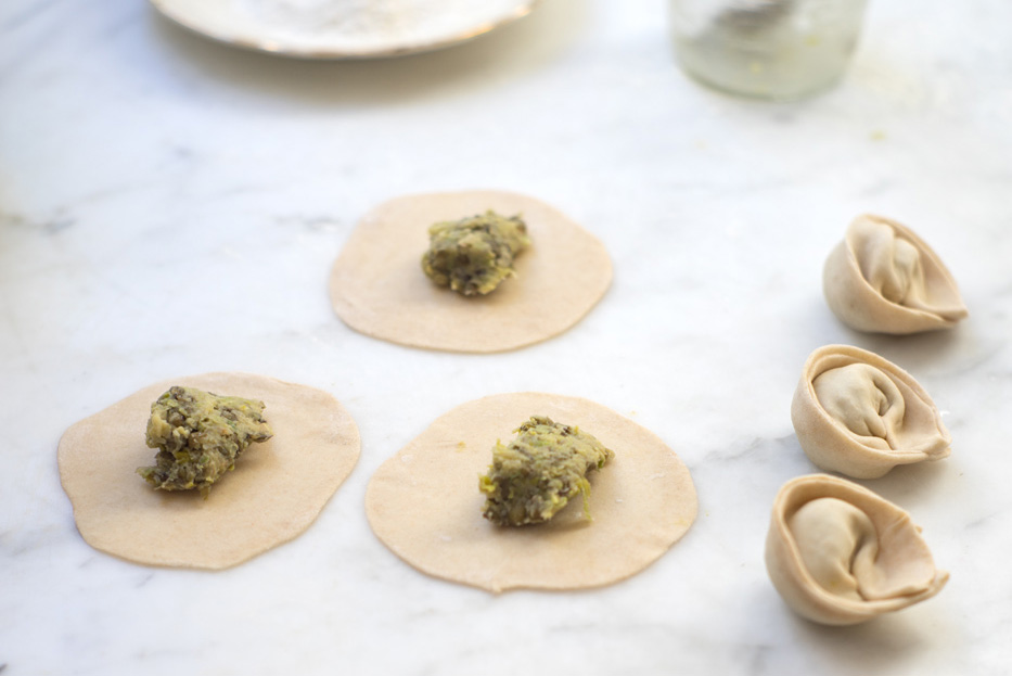 Green Curry Dumplings