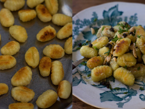 Green Olive Gnocchi Recipe