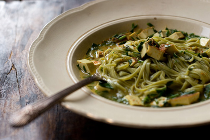 Slurp-tastic Herb Noodles recipe