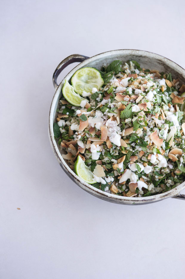 Herbal Rice Salad Recipe
