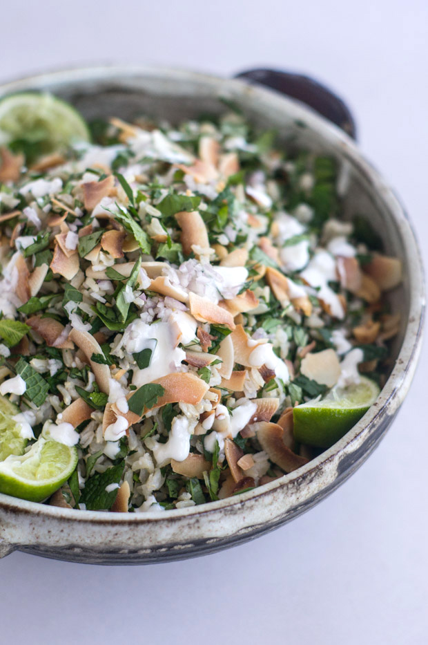 Herbal Rice Salad Recipe