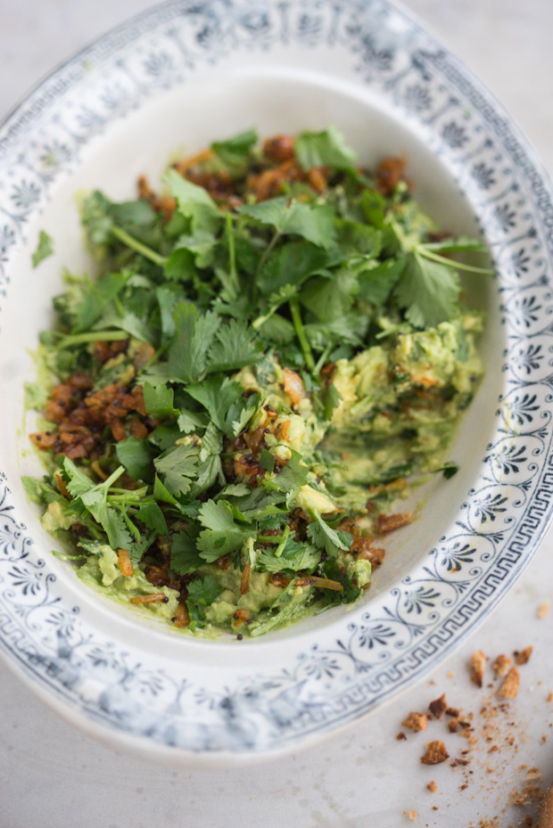 Indian-spiced Guacamole