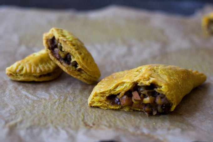 Jamaican Veggie Patties Recipe - 101 Cookbooks