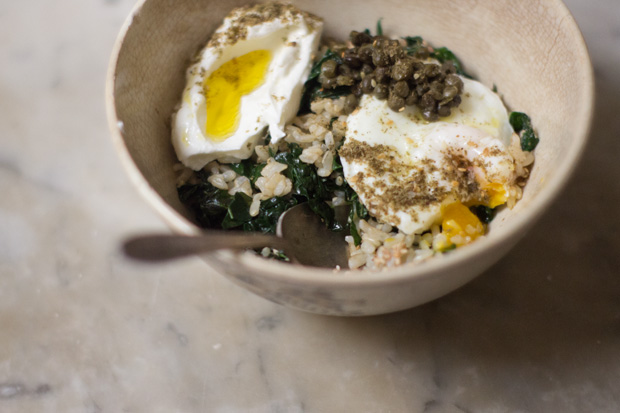 Cozy Millet Bowl With Mushroom Gravy And Kale Recipes — Dishmaps