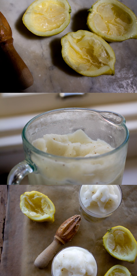 Lemon Anise Slushy Recipe