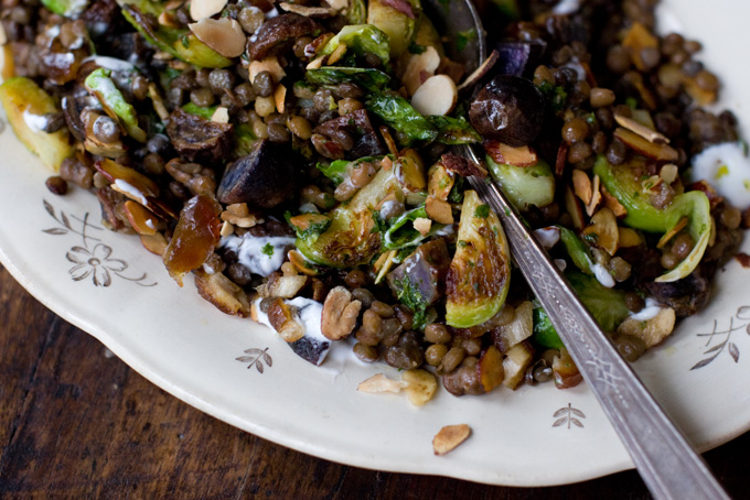 Lentil Almond Stir-Fry Recipe - 101 Cookbooks