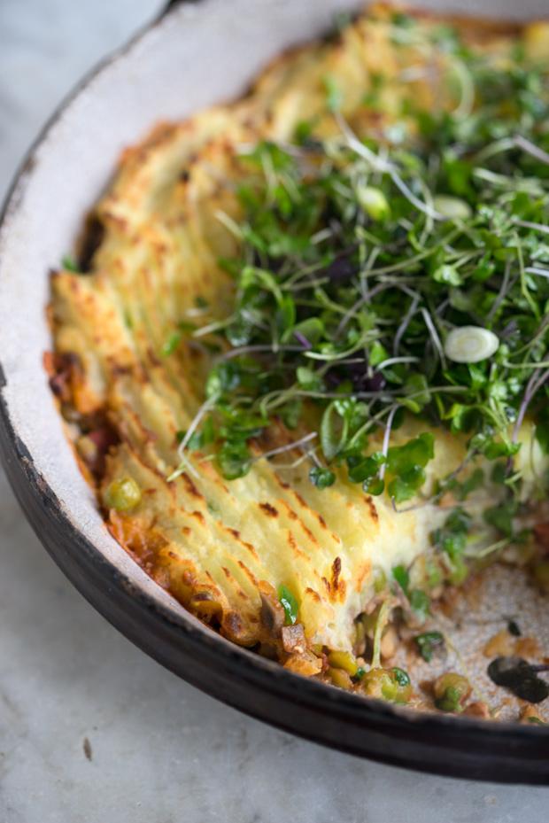 Make Ahead Vegan Samosa Shepherd's Pie