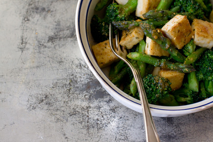 Miso Vegetables & Tofu recipe