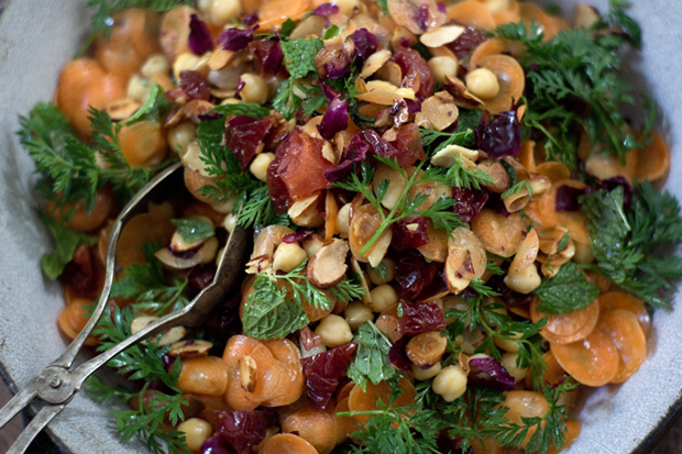 Moroccan Carrot and Chickpea Salad Recipe - 101 Cookbooks