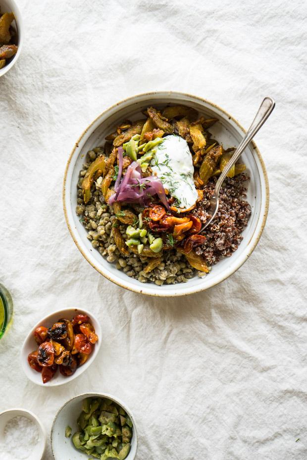 Mung Quinoa Power Bowl Recipe