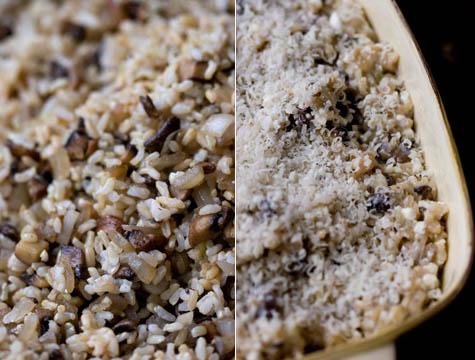 Mushroom Casserole Recipe