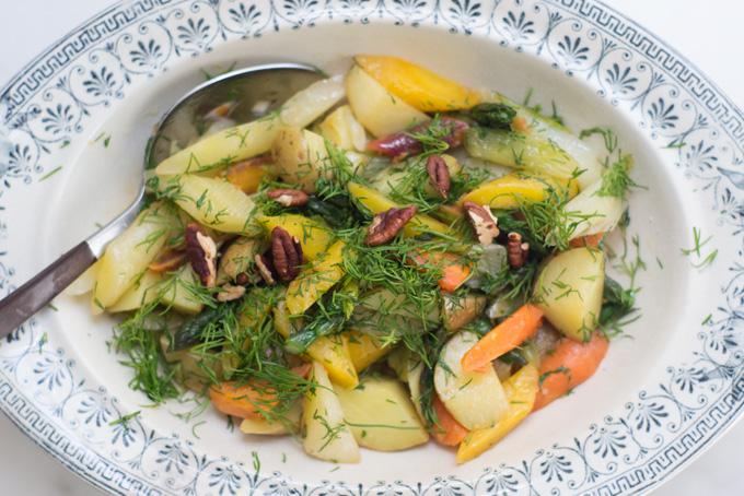 Olive Oil Braised Spring Vegetables Recipe - 101 Cookbooks