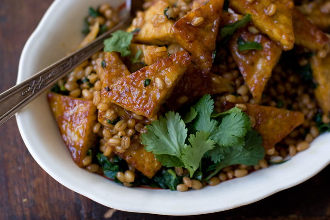Orange Pan-glazed Tempeh Recipe - 101 Cookbooks