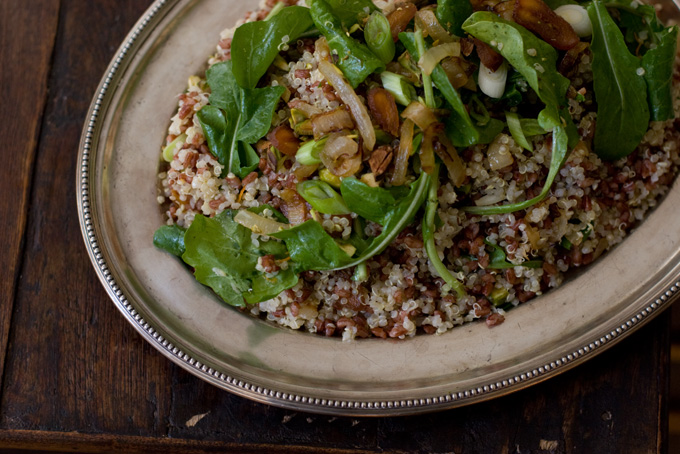 Ottolenghi Red Rice and Quinoa