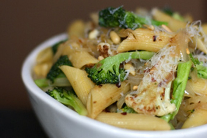 Best School Lunch: Sicilian Broccoli and Cauliflower Pasta Recipe ...