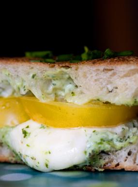 Cheesy, Heirloom, Panini Batons Recipe - 101 Cookbooks