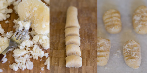 Peach Gnocchi Recipe